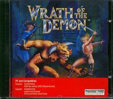 Wrath of the Demon (PC-CD, 1990) for DOS - New Sealed Jewel Case