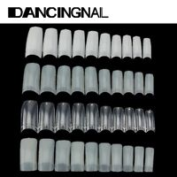 500pcs Capsules Extension Faux Ongles Acrylique French Gel UV Demi Nail Art Tips