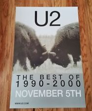 U2 - The Best of 1990-2000 Record Release Poster Promo Only
