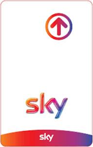 scheda,smart card prepagata sky scaduta serie 0003,0004 x canali chiaro