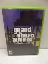 XBOX GRAND THEFT AUTO III THE XBOX COLLECTION COMPLETE