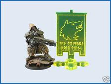 Warhammer 40k Space Marine Wolves Wolf Objective Marker