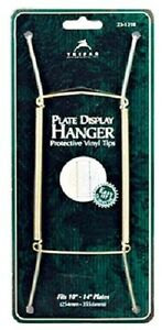 "Tri-Par 3 Pack 10"" To 14"" Brass Wire Plate Hanger"