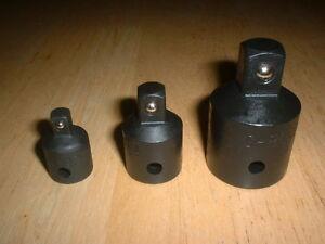 "1/4"" 3/8"" 1/2"" 3/4"" Socket Adaptor Converter Reducer Set 4  Air Impact Driver"