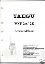 NEW Yaesu VXF-2A VXF-2B Service Manual in English