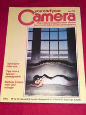 YOU AND YOUR CAMERA #30 - TIPS FROM FASHION PHOTOGRAPHER - Nov 22 1979