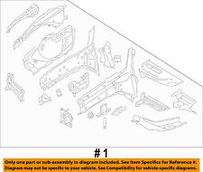 FORD OEM FENDER-Apron/Rail Assembly Right CV6Z16054C