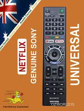GENUINE SONY REMOTE CONTROL for ALL SONY TV NETFLIX Bravia 4k Ultra HD Smart