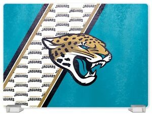 JACKSONVILLE JAGUARS TEMPERED GLASS CUTTING BOARD FROM DUCKHOUSE SPORTS