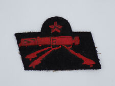 Original Italian Colonial Native Troops Machine Gun Sharpshooter Sleeve Patch