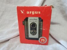 Vintage Argus 75 Argoflex Camera with Carrying Case and Original Box Great Cond