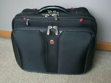 Wenger Swiss Gear Rolling Carry-On Computer Laptop Briefcase Wheeled Bag
