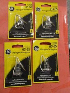 H3-55  GE--LOT OF 4--Fog Light Bulb
