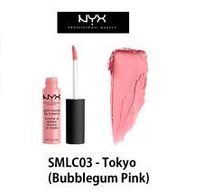 100% Authentic NYX Soft Matte Lip Cream -SMLC03 Tokyo ( Bubblegum Pink)