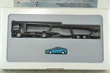 Herpa Car Transport Truck w/ Ferrari Car HO Scale 1:87