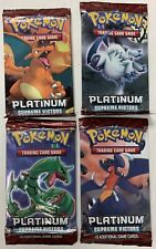 POKEMON TCG PLATINUM : SUPREME VICTORS BOOSTER PACK X 4 - ALL 4 ARTWORKS!