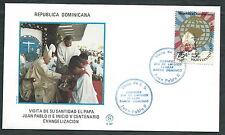 1984 VATICANO VIAGGI DEL PAPA SANTO DOMINGO  - SV