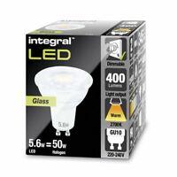 GU10 Glass PAR16 5.6W (50W) 2700K 400lm Dimmable Lamp