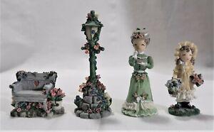 Ivy & Innocence Set of 4 Accessories: Blossom Greene, Miss Mary Hemmings, plus