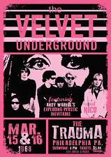 Reproduction The Velvet Underground - The Trauma Poster, Home Wall Art