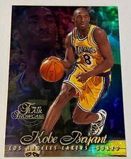 Kobe Bryant Los Angeles Lakers 1996 - 1997 Flair Showcase Row 1 Rookie Card