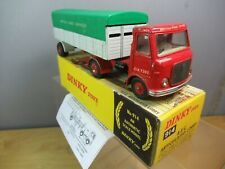 VINTAGE  DINKY MODEL No.914    AEC ARTICULATED LORRY  ( BRS )        BOXED