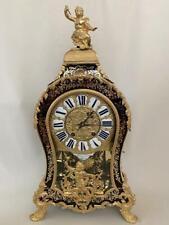 Exquisite Boulle Bracket Clock by  Moreau Laisne Paris early 18th