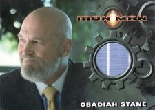 Rittenhouse Iron Man 1st Movie Jeff Bridges as Obadiah Stane Costume Card a