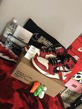 Nike Air Jordan 1 Bianco Sporco Taglia 10uk 100% AUTENTICO