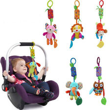 Baby Hanging Rattle Toy Baby Stroller Car Seat Crib Plush Toys with Teether Shan