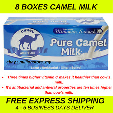 Original Camel Milk Powder Halal Pure 8 Boxes (160 sachets x 25g) EXPRESS SHIP
