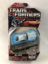 Transformers Generations Blurr Autobot Hasbro 2010 MOC