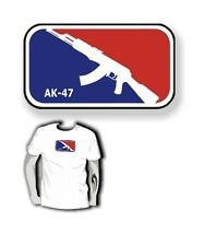 T-SHIRT AK 47 KALASCHNIKOW für Gamer HARDCORE GAMING GEEK * PC Nerd
