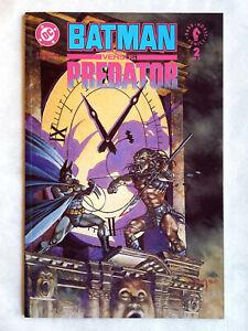 BATMAN versus PREDATOR #2 Prestige : NM : 1992 DC/Dark Horse, Gibbons, Kubert +