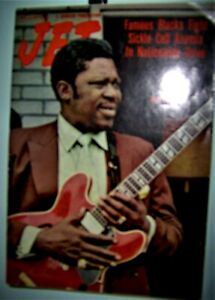 B.B.KING JET Magazine October 7th 1971 Famous Blacks Fight Sickle Cell Anemia