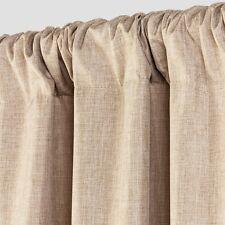 """Room Essentials Lightblocking Tan (1) Curtain Panel 42"""" X 63"""""""