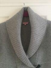 Ted Baker Ladies Wool & Angora Silver Grey Cardigan BNWOT Size 3 / Size 12