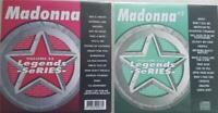 2 CDG LEGENDS KARAOKE DISCS MADONNA 1980'S POP OLDIES R&B CD+G MATERIAL GIRL