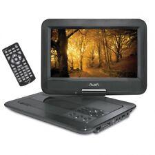 """Reproductor de Tv tele DVD portatil AURA 10"""" DV-20 USB SD Con soporte cabezal"""
