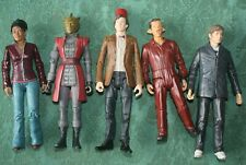 DR WHO 5 inch ACTION FIGURES X5   -  LOT #2