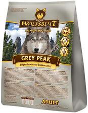 Wolfsblut Grey Peak Adult 15 kg Hundefutter mit Ziegenfleisch