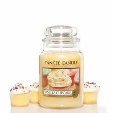 🕯 Yankee Candle ® Vanilla Cupcake Jar 623g grosso bicchiere housewarmer CANDELA PROFUMATA