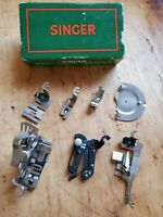 Vintage 1940's Singer Sewing Machine Attachments 160809 in original box