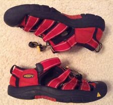 EUC! Youth Red Waterproof Keens Sz 3