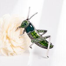 Km _ Kf _ Damen Kawaii Locust Heuschrecke Strass Insekt Brosche Tasche Jacke