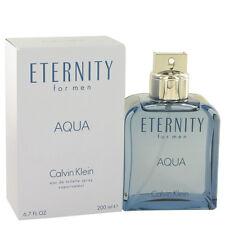 Eternity Aqua Eau de Toilette Spray 6.7 oz by Calvin Klein 200 ml for Men NIB