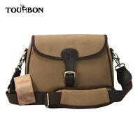 Tourbon Canvas Trap Skeet Ammo Cartridge Holder Speed Bag Shooting Cartridge Bag