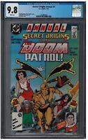 SECRET ORIGINS ANNUAL #1 CGC 9.8 (1987) DC white pages
