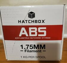 Hatchbox 3D Printer Filament Green ABS 1.75MM