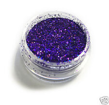 Dark Purple Laser Eye Shadow Glitter Sparkling Dust Body Face Nail MakUp